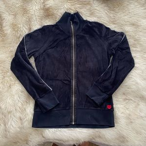 Twisted Heart Velour Track Jacket